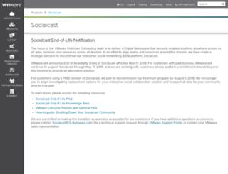 socialcast.com screenshot