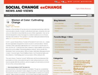 socialchange.ogilvypr.com screenshot