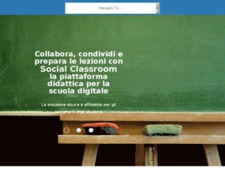 socialclassroom.it screenshot
