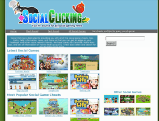 socialclicking.com screenshot