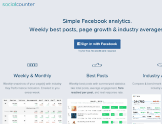 socialcounter.com screenshot