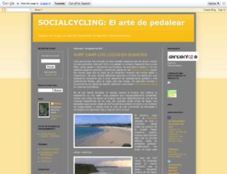 socialcycling.blogspot.com screenshot