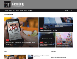 socialdaily.com screenshot