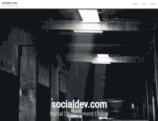 socialdev.com screenshot