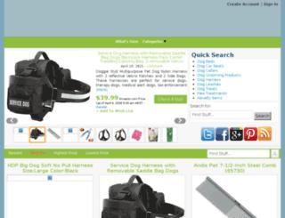 socialdogtrainingstore.com screenshot