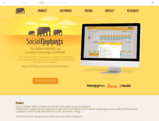 socialelephants.com screenshot
