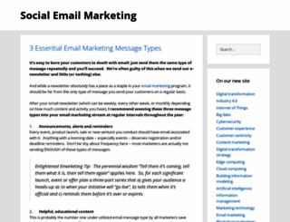 socialemailmarketing.eu screenshot