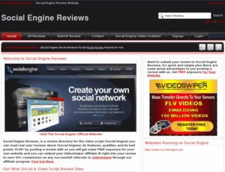 socialengine-reviews.info screenshot