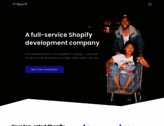 socialengine.spur-i-t.com screenshot