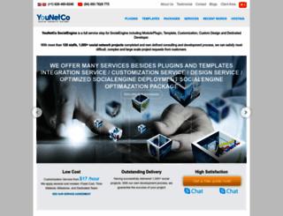 socialengine.younetco.com screenshot
