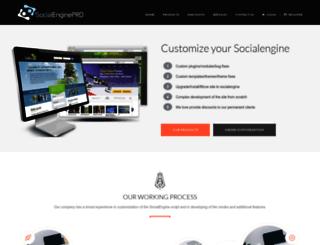 socialenginepro.com screenshot