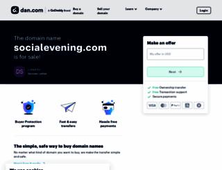 socialevening.com screenshot