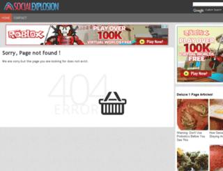 socialexplosion.org screenshot