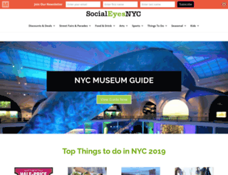 socialeyesnyc.com screenshot