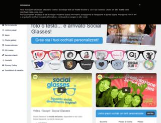 socialglasses.it screenshot