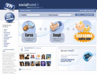 socialhotel.it screenshot