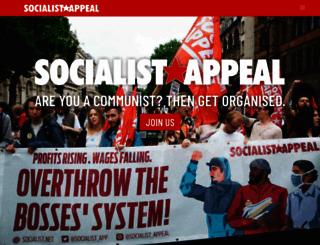 socialist.net screenshot