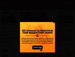 socialistalternative.org screenshot