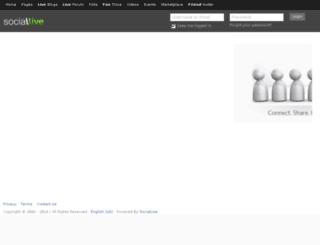 sociallive.com screenshot