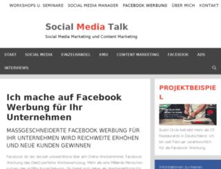 socialmedia-kalkulator.de screenshot