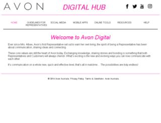 socialmedia.avon.com.au screenshot