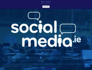 socialmedia.ie screenshot