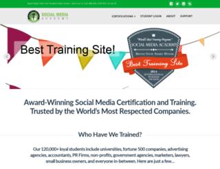 socialmediaacademy.com screenshot