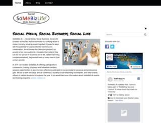 socialmediabusinesslife.com screenshot