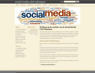 socialmediaclubnijmegen.nl screenshot