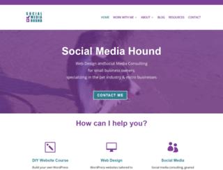 socialmediahound.com screenshot