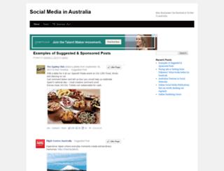 socialmediainaustralia.com.au screenshot