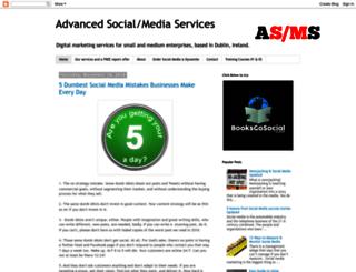 socialmediaisdynamite.blogspot.ie screenshot