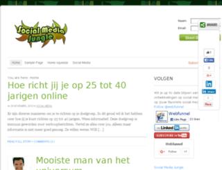 socialmediajungle.nl screenshot
