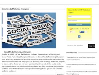 socialmediamarketingchampion.com screenshot