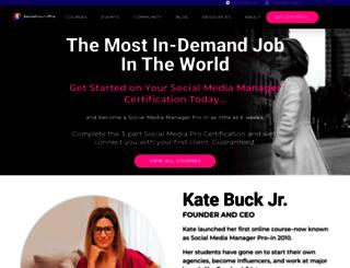 socialmediapro.com screenshot
