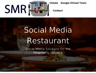 socialmediarestaurant.com screenshot