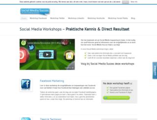 socialmediasucces.nl screenshot
