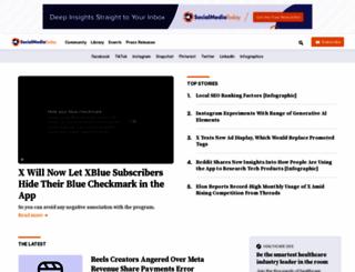 socialmediatoday.com screenshot
