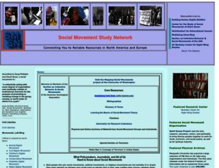 socialmovementstudy.net screenshot
