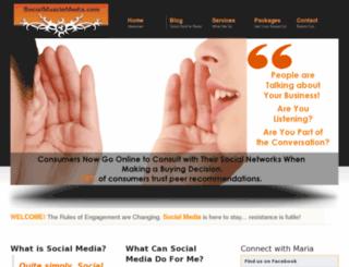 socialmusclemedia.com screenshot