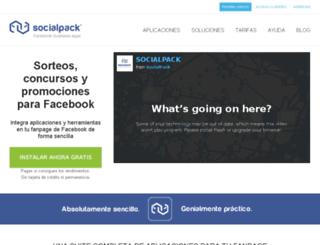 socialpack.net screenshot