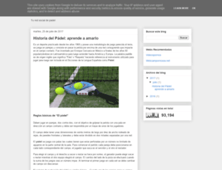 socialpadel.es screenshot