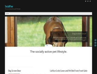 socialpaw.com screenshot