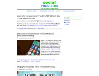 socialprecision.com screenshot