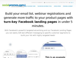 socialpromos.com screenshot