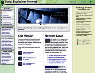 socialpsychology.org screenshot