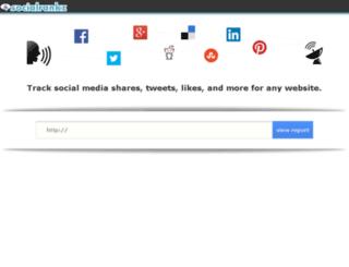 socialrankz.com screenshot