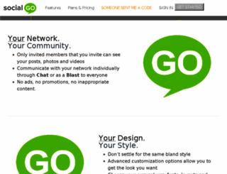 socialred20.socialgo.com screenshot