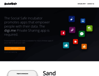 socialsafe.net screenshot