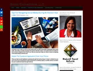socialsaraconnections.com screenshot